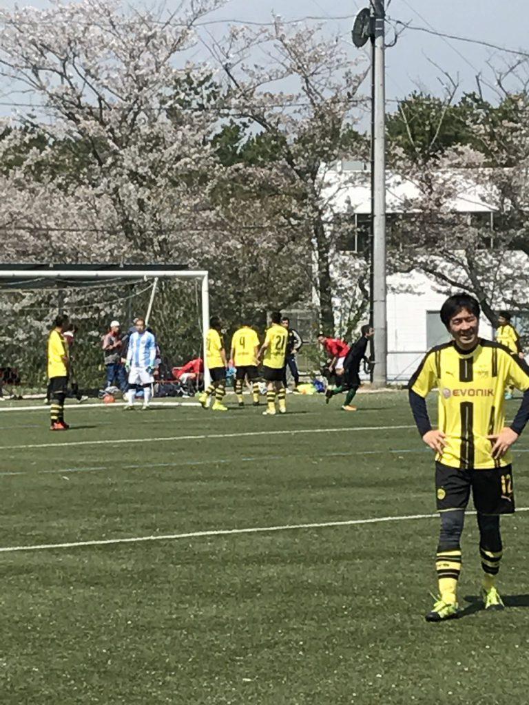 2017/4/15(土)  生涯学習型シニアサッカー「Lifetime League2017」第4節 写真