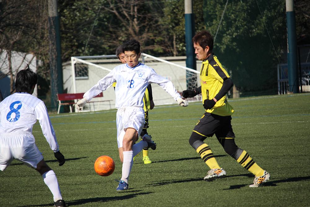 2017/1/21(土)  生涯学習型シニアサッカー「Lifetime League2017」第1節 写真