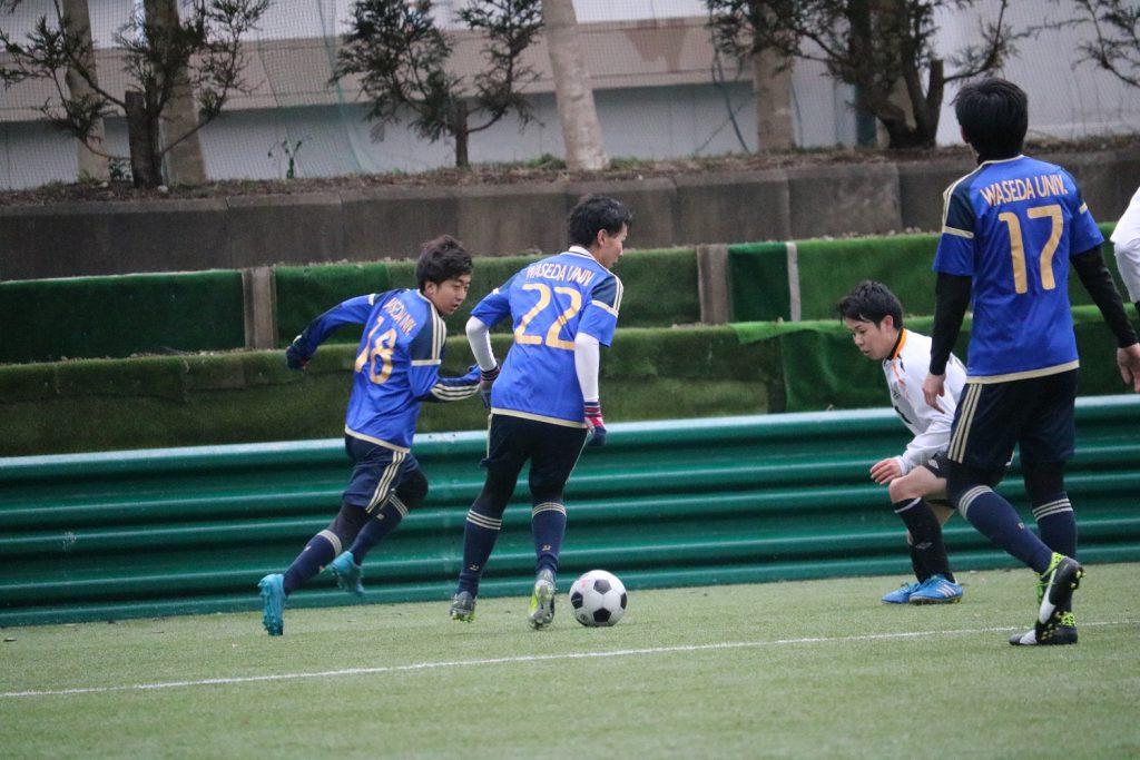 2018/2/2(金)~3(土) FOOTBALL COMPETITION 17-18【学年別ROUND】卒業生/就活生 写真