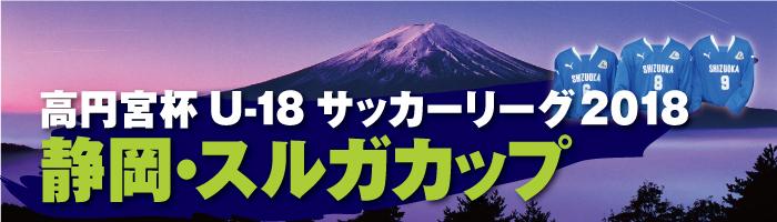 高円宮杯 JFA U-18サッカーリーグ2018静岡・スルガカップ A/Bリーグ前期