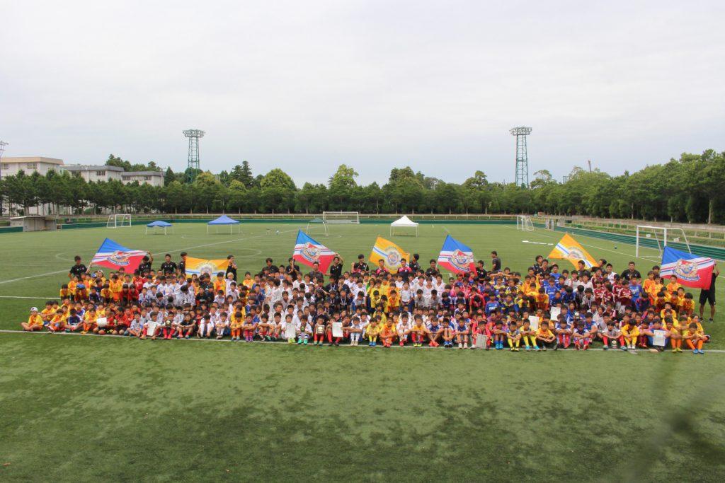 鹿島ハイツJr.サマーフェスティバル2018 6年生 写真