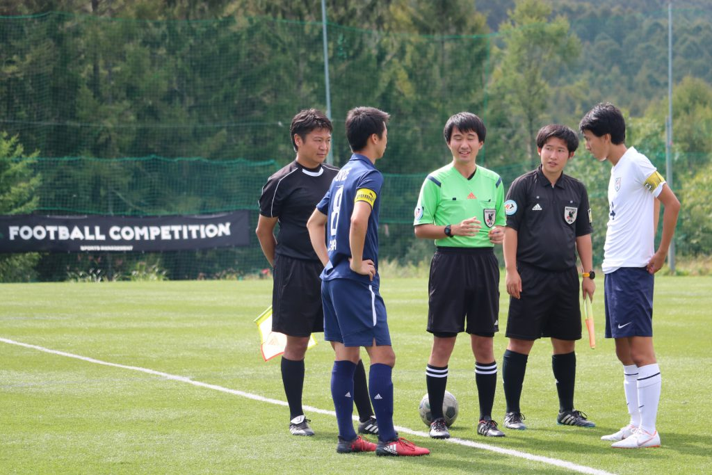 2018/9/22(土)~23(日) FOOTBALL COMPETITION 17-18【PREMIER CHAMPIONSHIP】菅平高原 写真