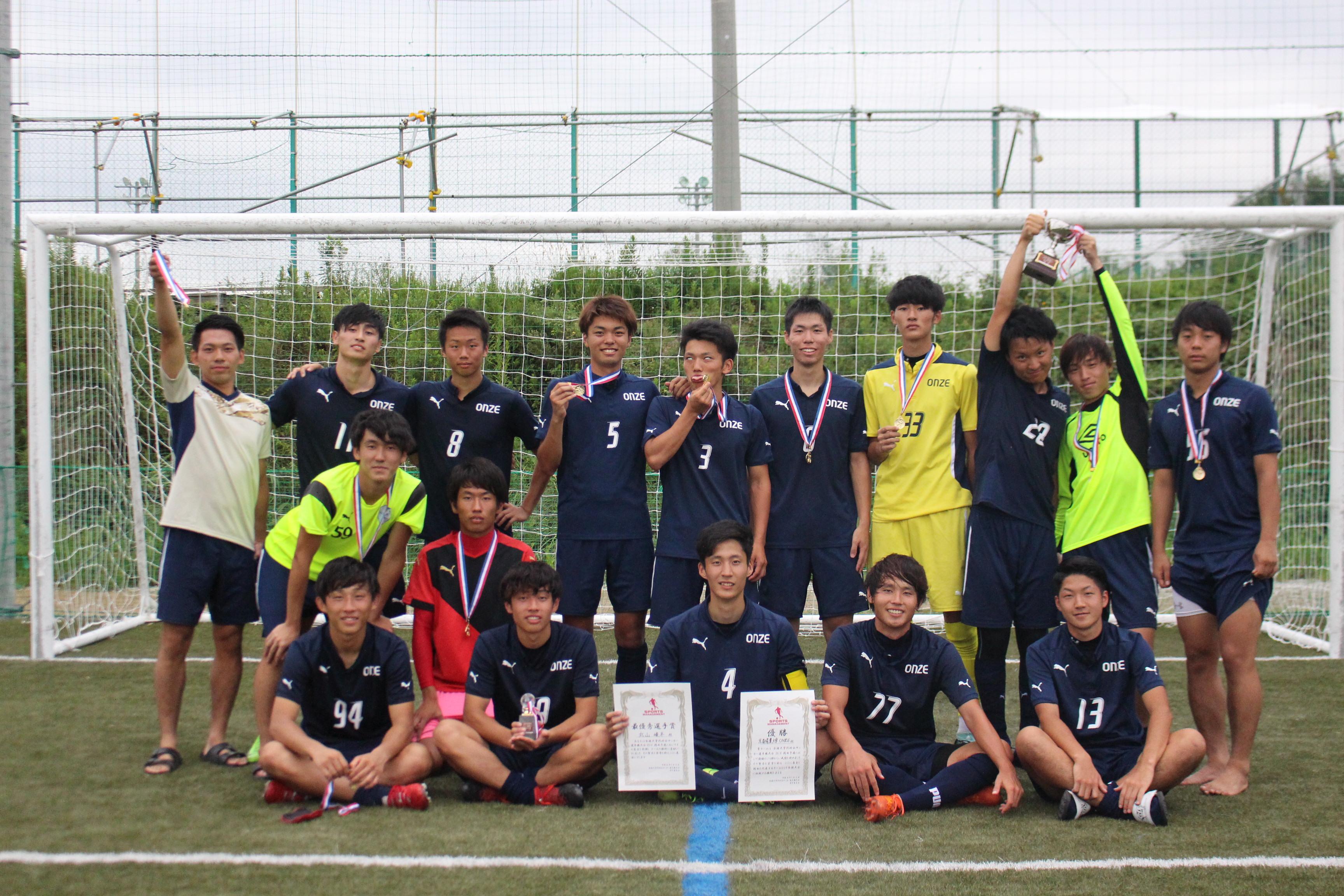 全国大学同好会サッカー選手権大会2018 関西予選