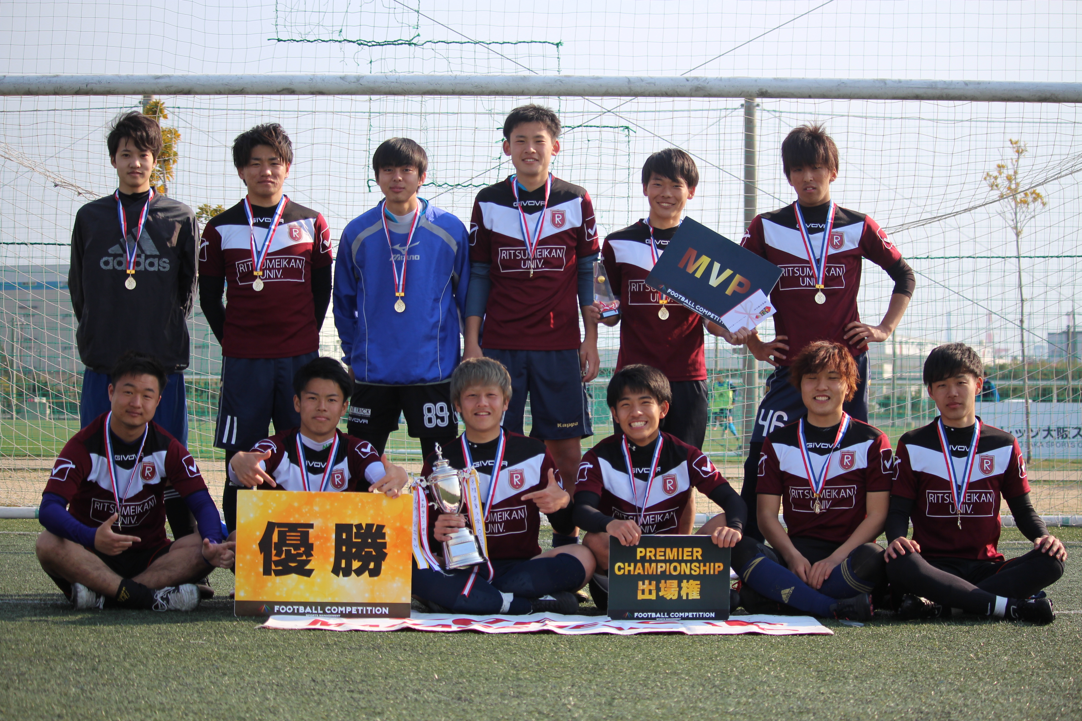 2019/3/14(木)~15(金) FOOTBALL COMPETITION 18-19【PREMIER④】J-GREEN堺