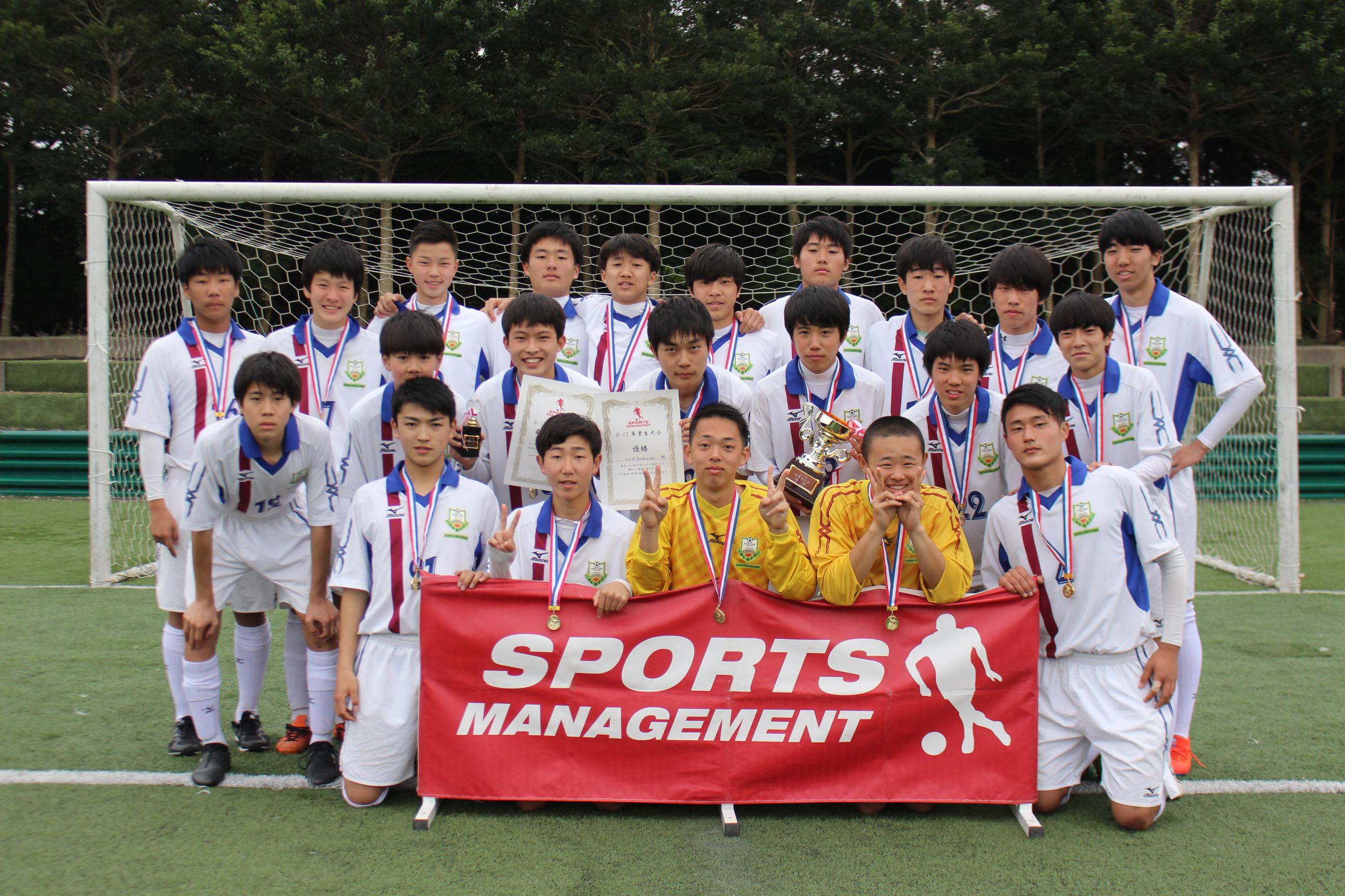 2019/3/9(土)~10(日)  Jr.Youth U-15卒業生大会
