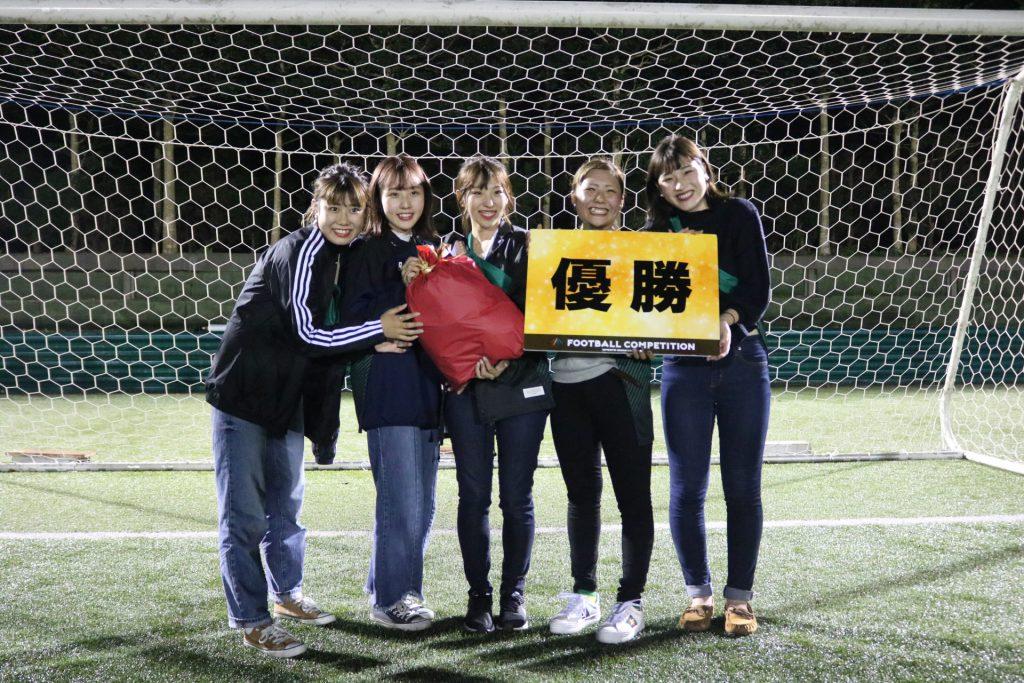 マネージャーミニサッカー大会優勝