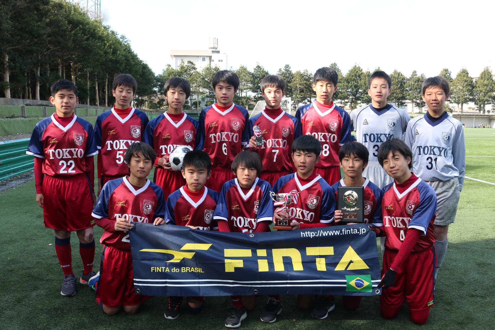 第19回FinTA CUP~選抜サッカー大会~ U-13