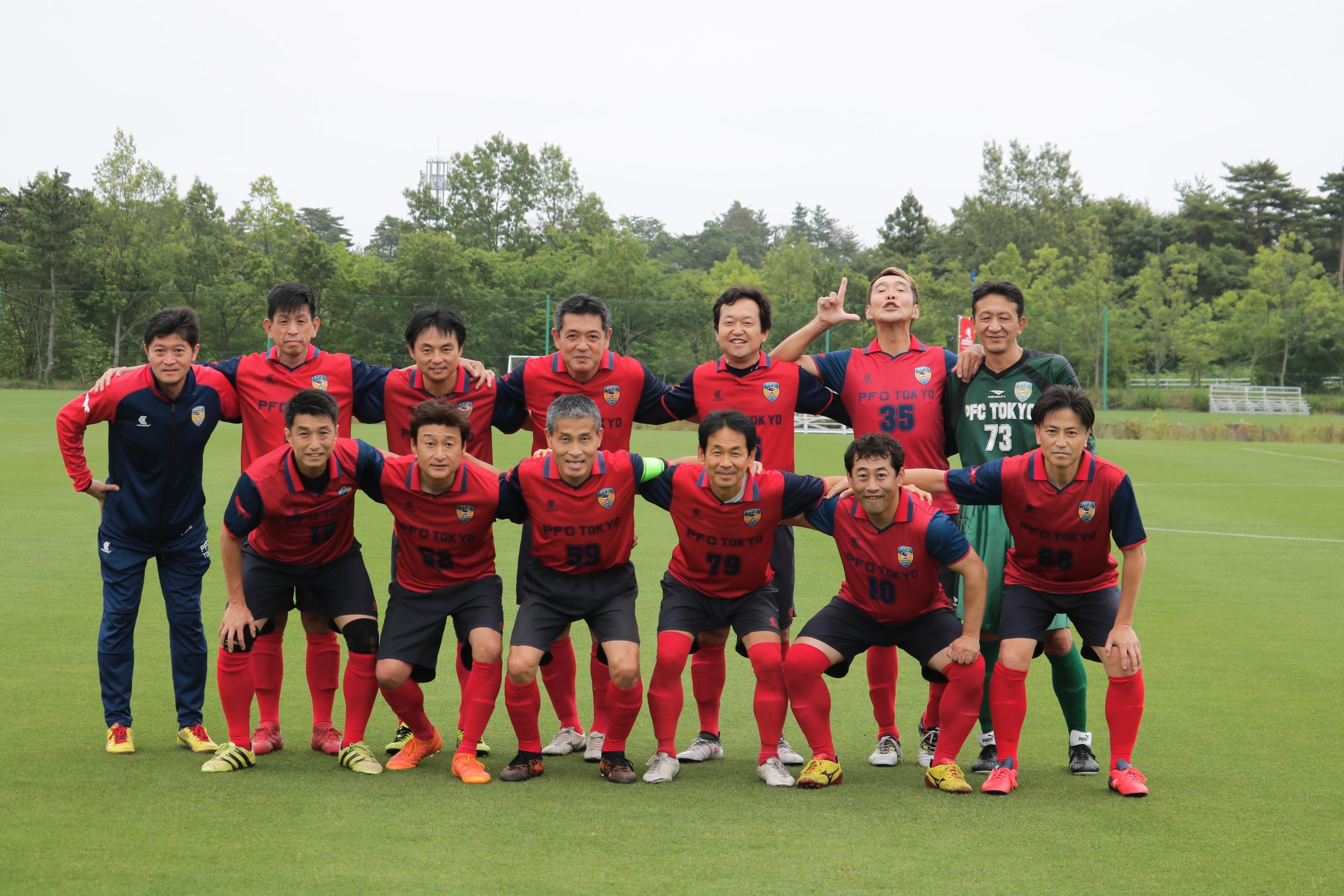 2019/6/29(土)~30(日) 第1回 J-VILLAGE シニアサッカー大会(O-50)